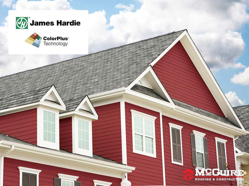 Why Install James Hardie® Siding With ColorPlus® Technology?